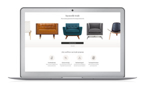 Hayneedle Website: Designer