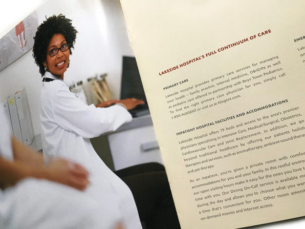 Lakeside Hospital Brochure