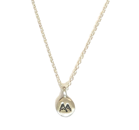 Petite Mountain Charm Necklace