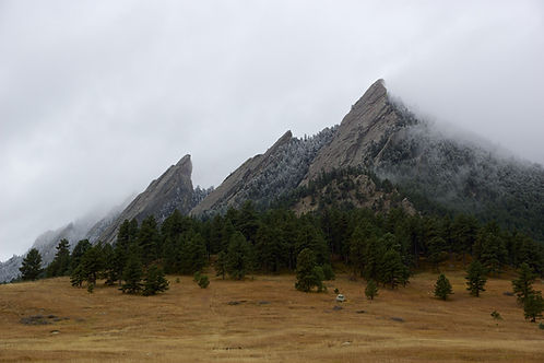 Boulder Colorado Flatirons