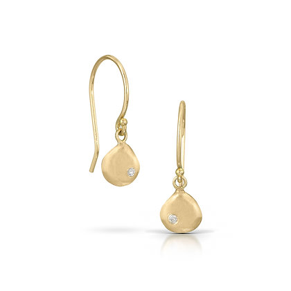 Gold & Diamond Joy Earrings with Diamonds