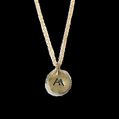 Mountain Pendant Necklace