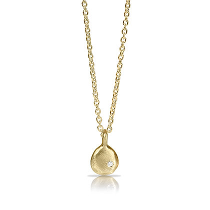Joy Pendant with Shining Diamond Necklace