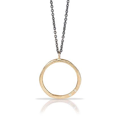 Shine like the Sun Necklace with Diamond