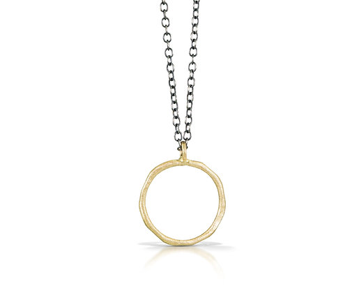 Golden Infinite Love Necklace