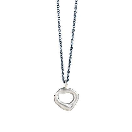 Enfold Silver & Diamond Necklace