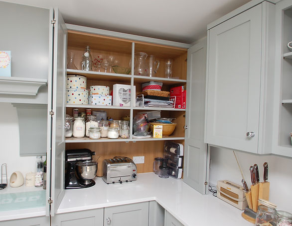 Picture of kitchen cupboard