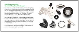 Gravlund Industrigummi A/S Gummi/metalforbindelser