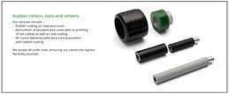 Gravlund Industrigummi A/S Gummivalser gummihjul gummiruller