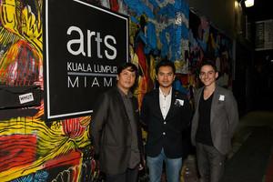 At Arts Kuala Lumpur During Art Basel Miami 2013