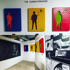 The ConnectorHouse at Superfine Art Fair during Art Basel Miami 2016.