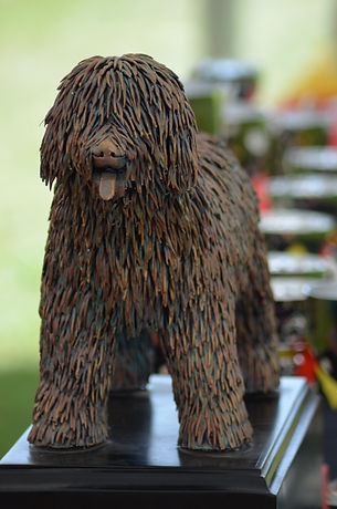 Spanish Water Dog Championship Trophy