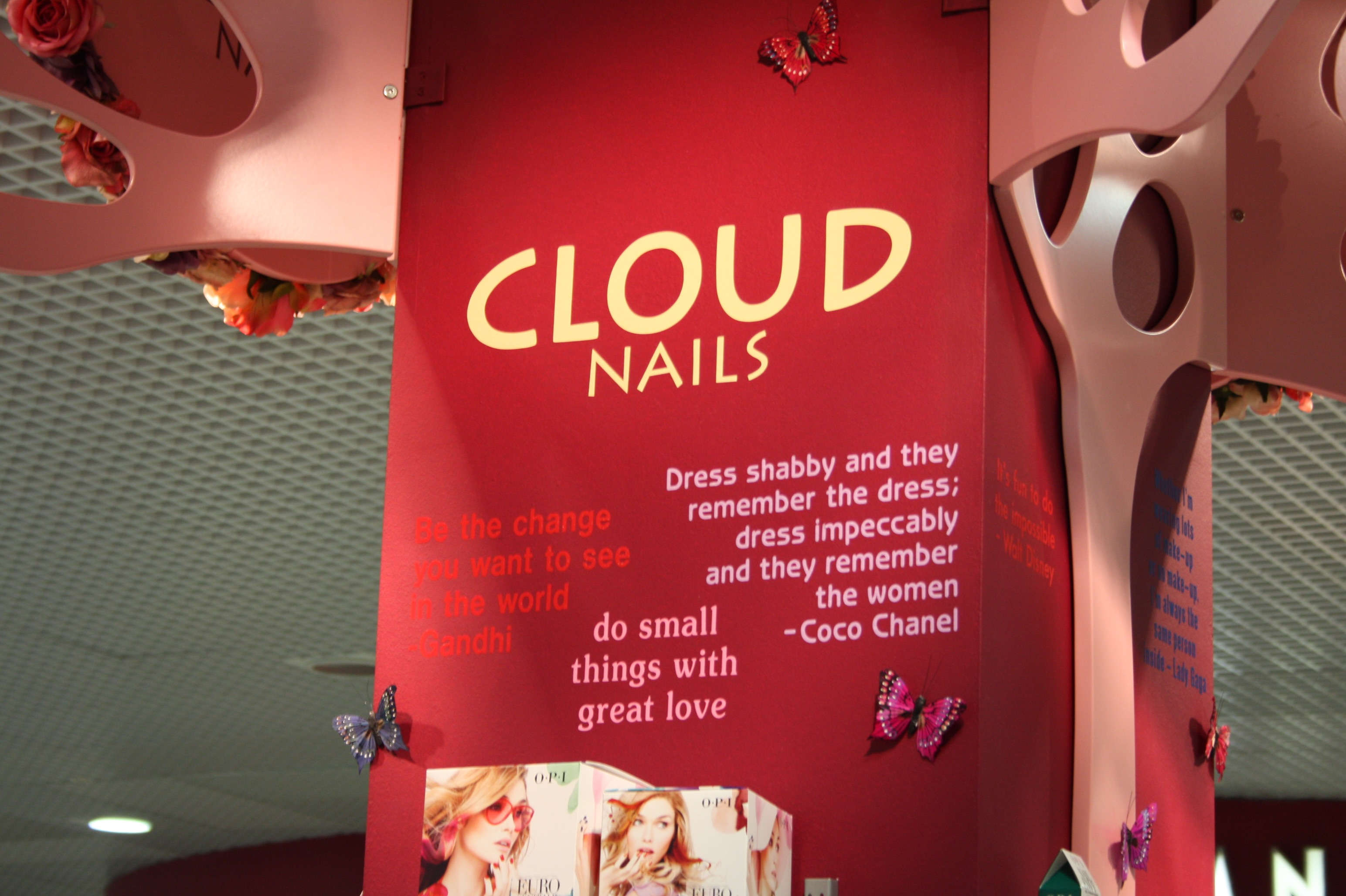 Cloud Nails - Birmingham Airport