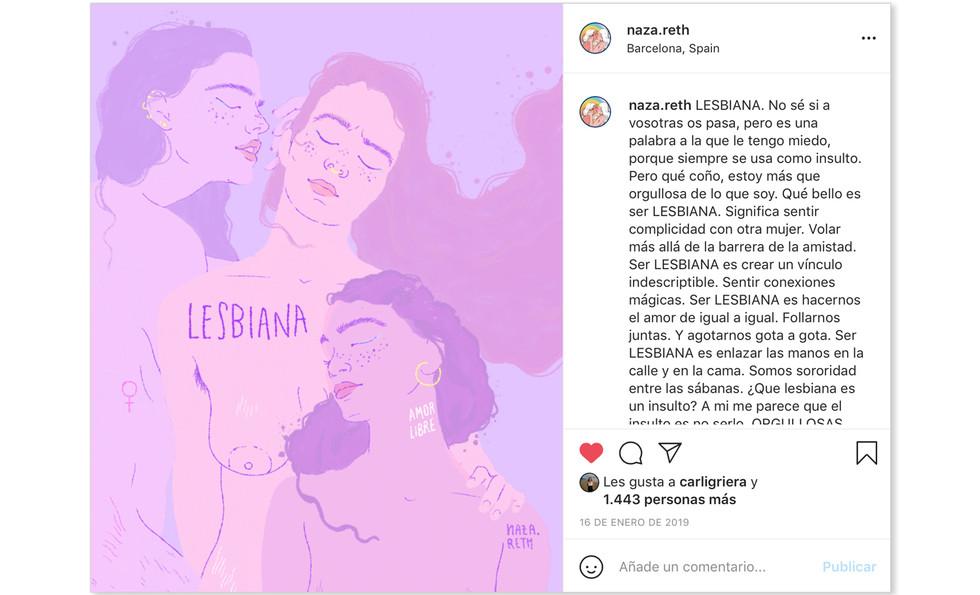 NAZARETH DOS SANTOS ACTIVISMO