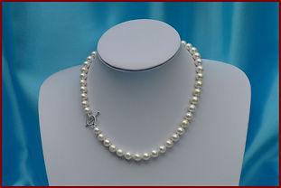 Magnifique collier de perles