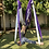 Thumbnail: Violet & White Antigravity Aerial Hammock
