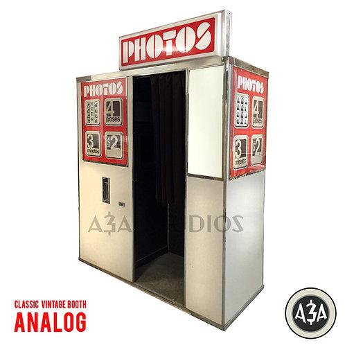 Vintage Chemical Analog Photobooth (M9/M11/M14/M17/M20/M21)