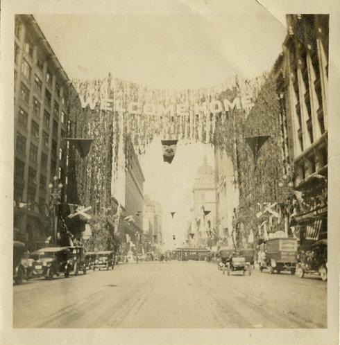 Homecoming WWI Parade