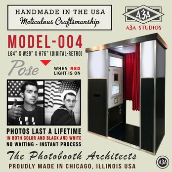 Handmade In The USA Model-004 Photobooth
