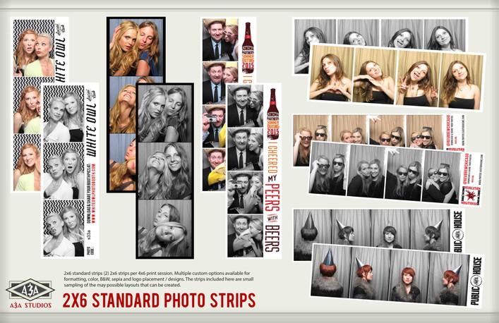 2z6 Custom Photobooth Strip Samples