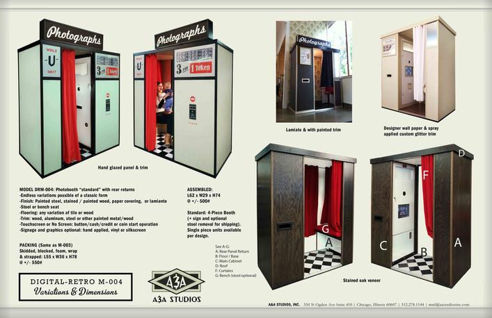 Digital Retro M004 - Various Versions