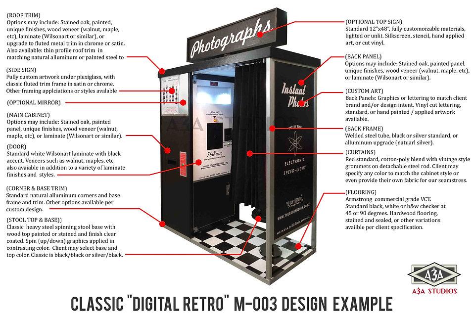 classic photobooth design options