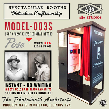 Model - 003S Photobooth