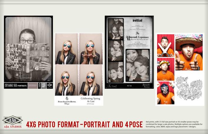4x6 Custom Photobooth Samples