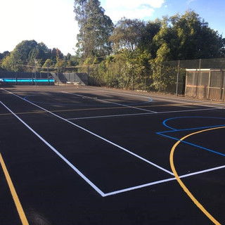 the great outcomes - sports court upgrad