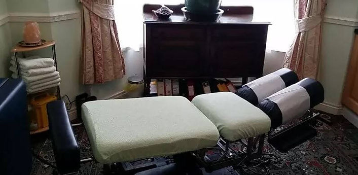 Massage Chair and Table at The Lycium Ce