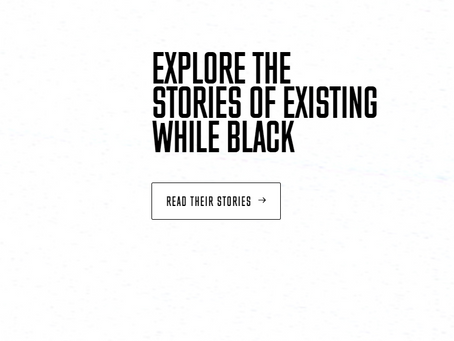 Existing While Black (Huffington Post)