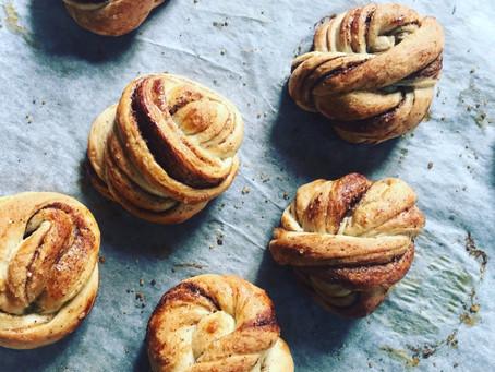 Swedish cinnamon buns/kanelbullar