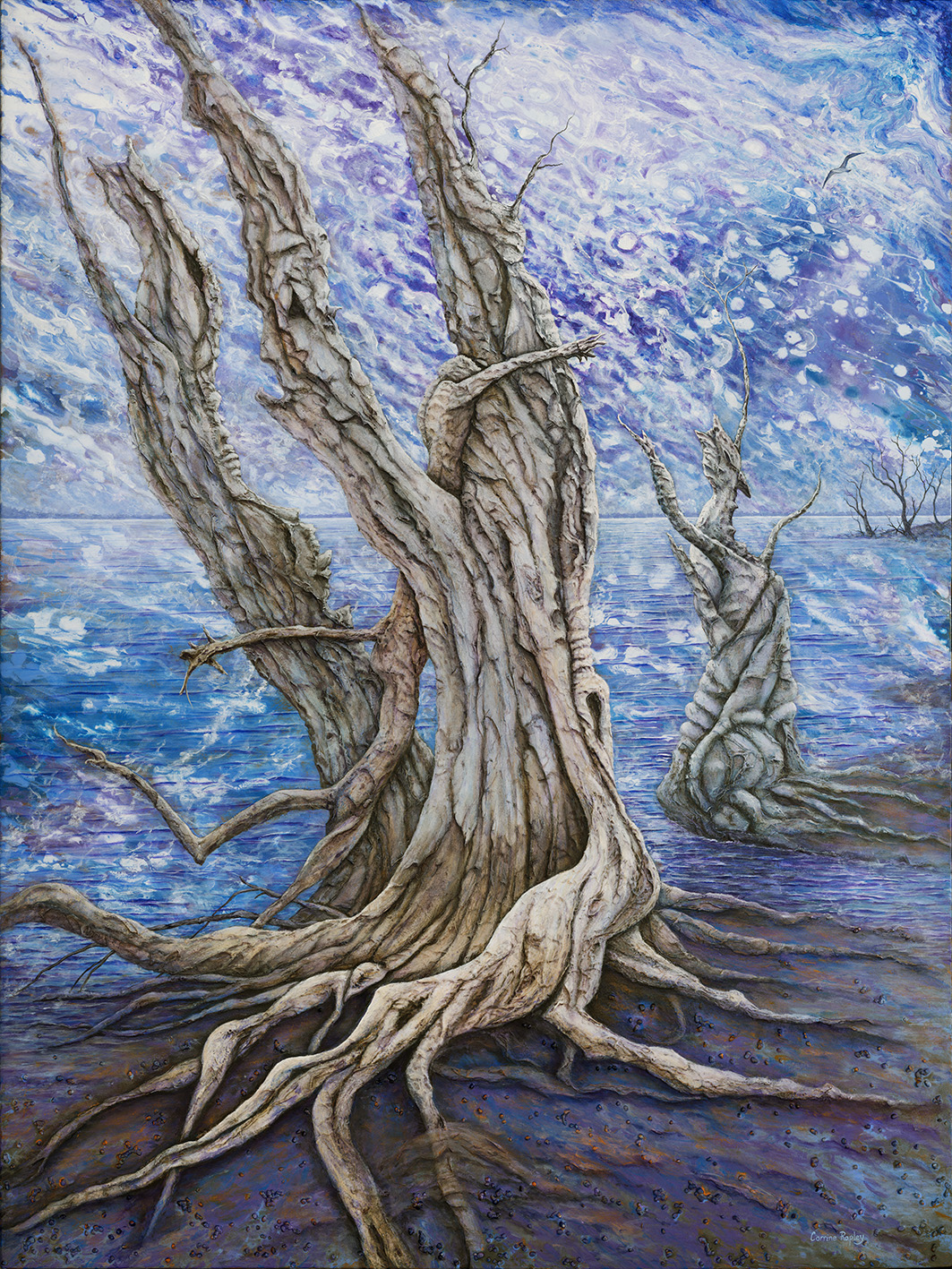 SOLD - Djilda Tree Spirits,The Supplication