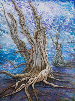 SOLD - Djilda Tree Spirits,The Supplication
