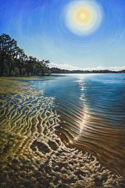 SOLD - Glistening Light, Southern Estuary