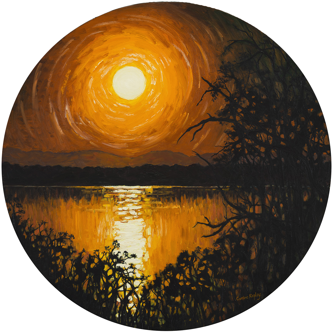 SOLD Estuary Moon