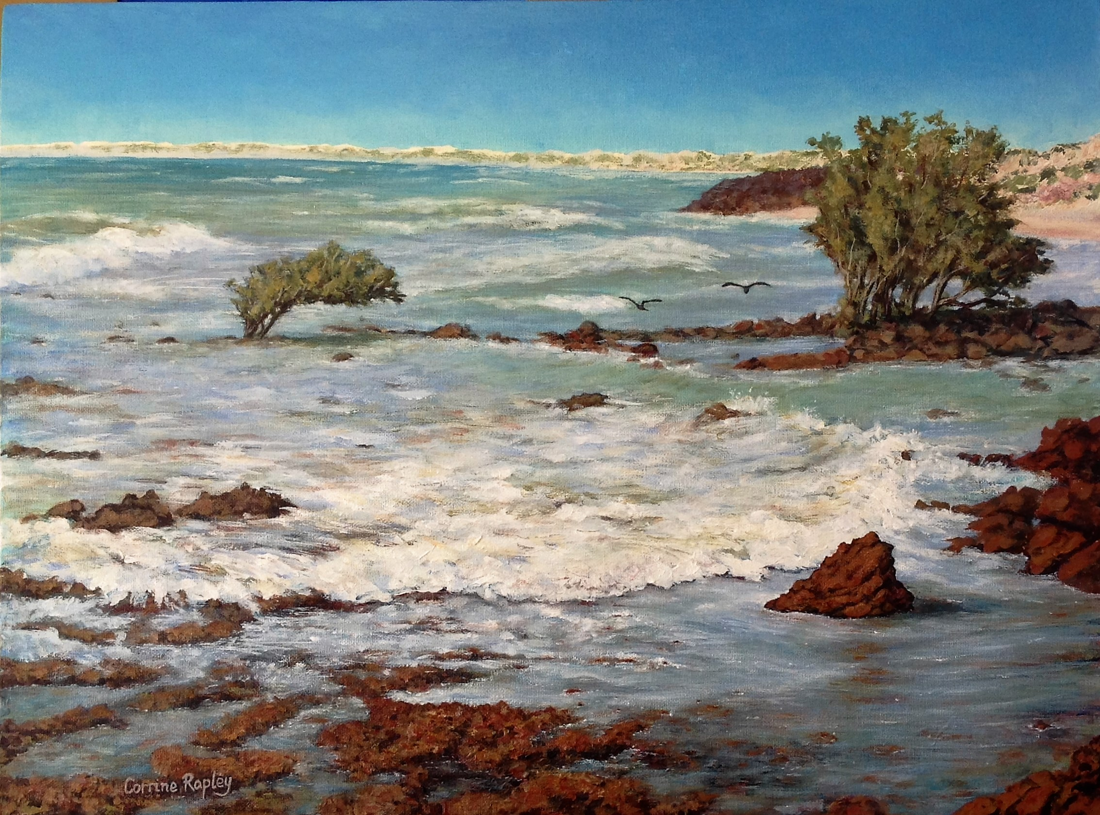 Incoming Tide, Cape Keraudren - $760