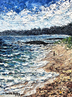 SOLD - Walking the Dog at Silver Sands