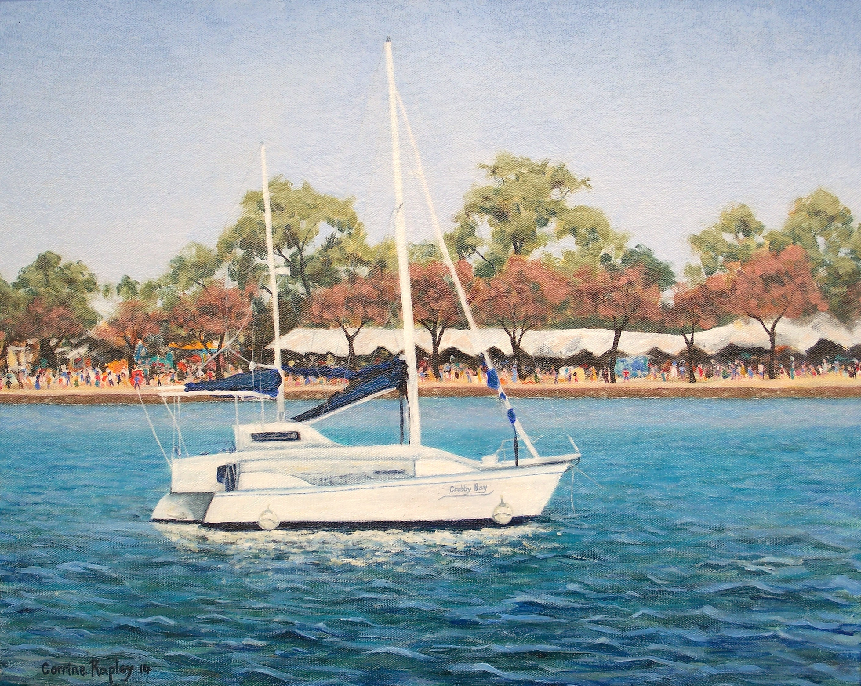 Catamaran at Crab Fest