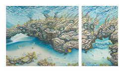 Under the Sea (Diptych)
