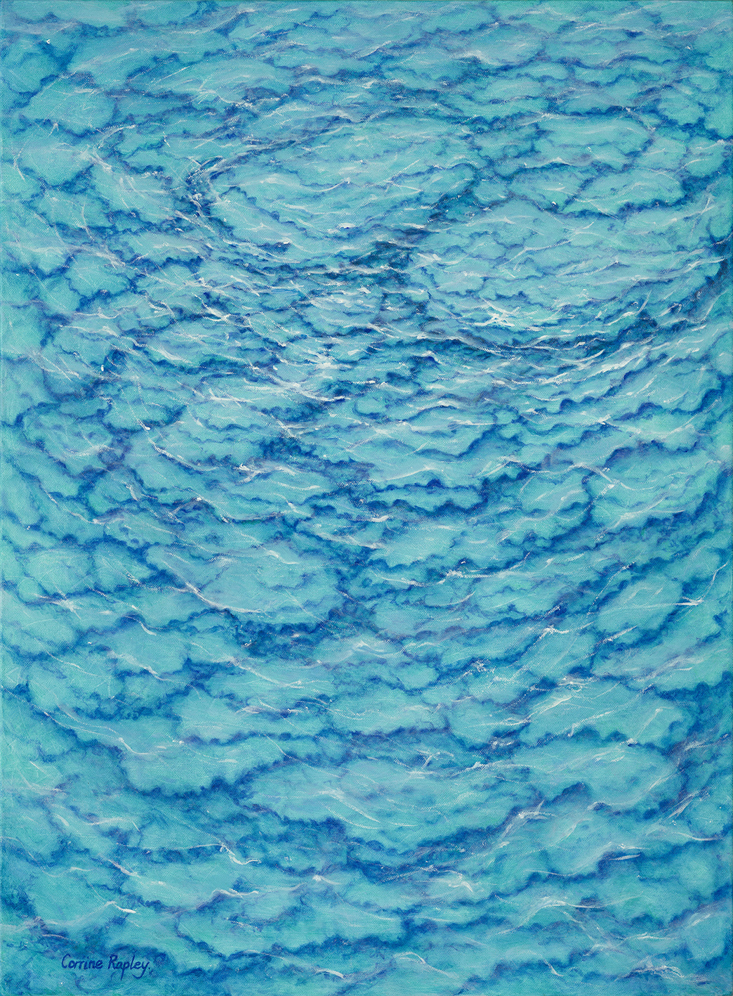 SOLD - Ripples from the Sea of Dreams