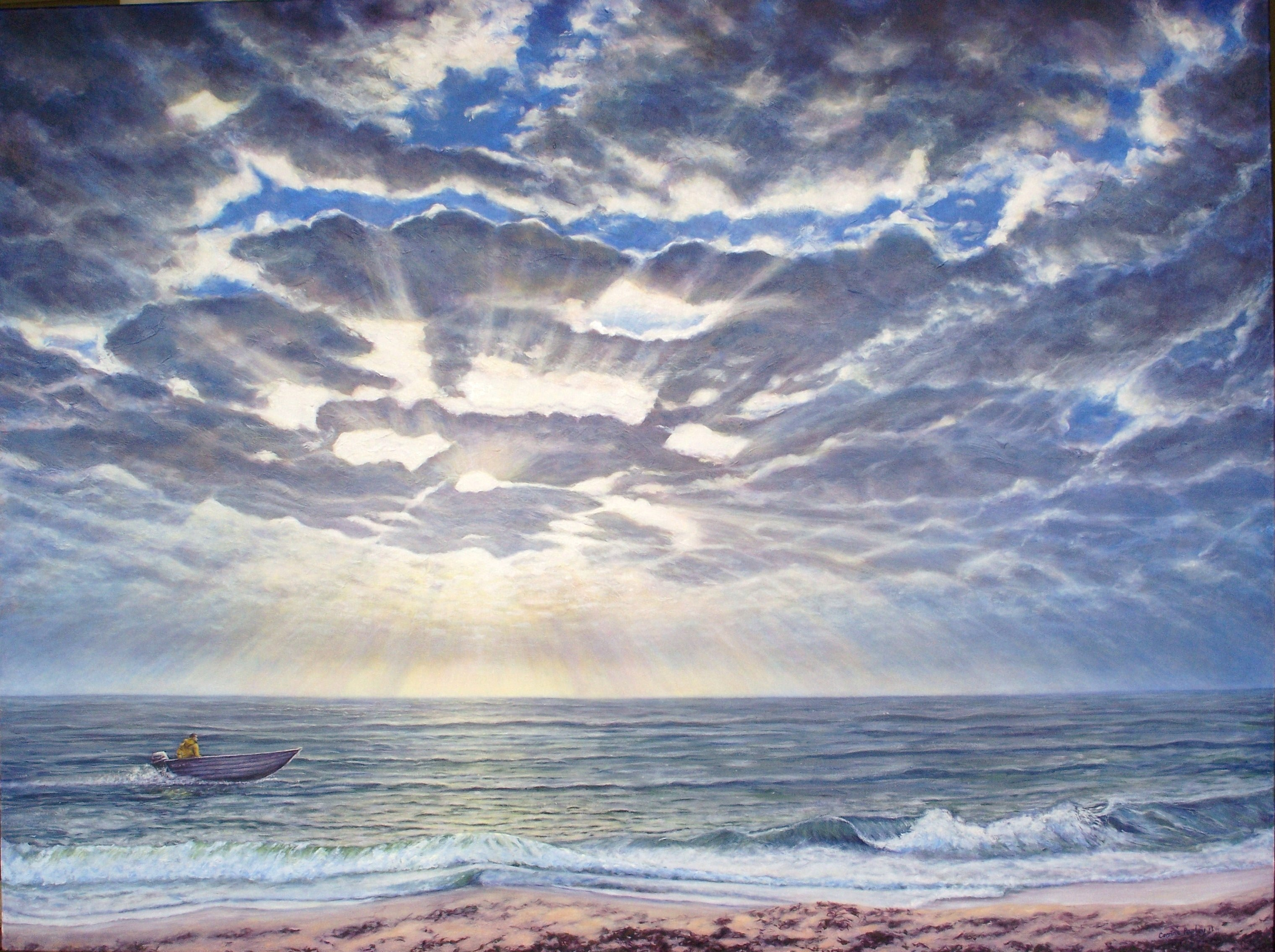 Homeward Bound, Florida Beach - SOLD