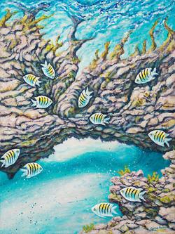 Underwater World 2 (Part 2 of Diptych)