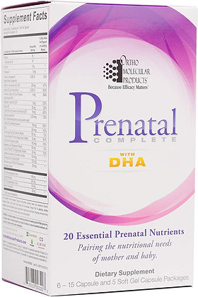 Ortho Molecular Products Prenatal Complete with DHA