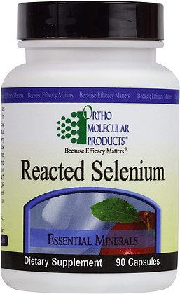 Ortho Molecular Products Reacted Selenium - 90 Capsules