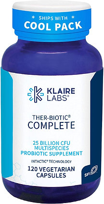 Klaire Labs Ther-Biotic Complete - 120 Capsules