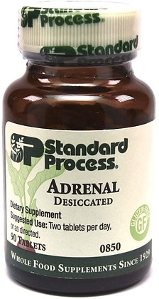 Standard Process Adrenal Desiccated - 90 Tablets