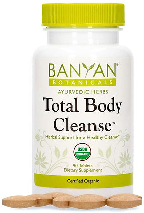 Banyan Botanicals Total Body Cleanse - 90 Tablets