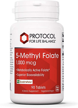 Protocol For Life Balance 5-Methyl Folate - 90 Tablets