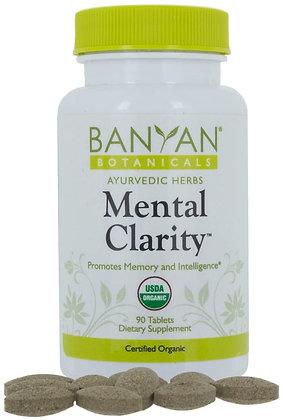 Banyan Botanicals Mental Clarity - 90 Tablets